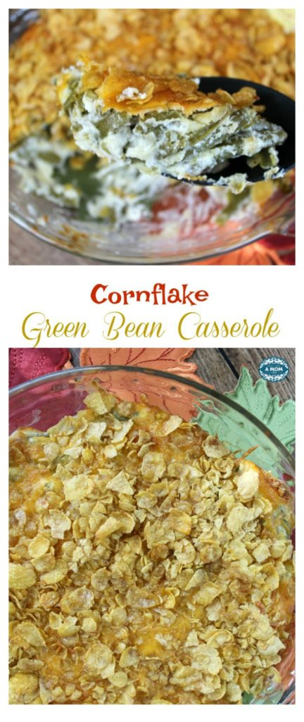Cornflake Green Bean Casserole for Thanksgiving