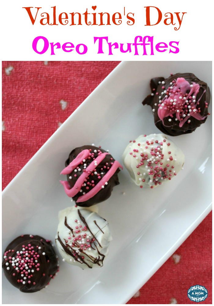 Valentines Day Oreo Truffles Oreo Balls Chocolate Recipe