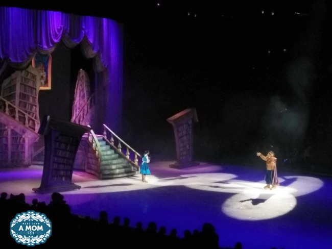 Disney On Ice Reach For The Stars beauty and the beast