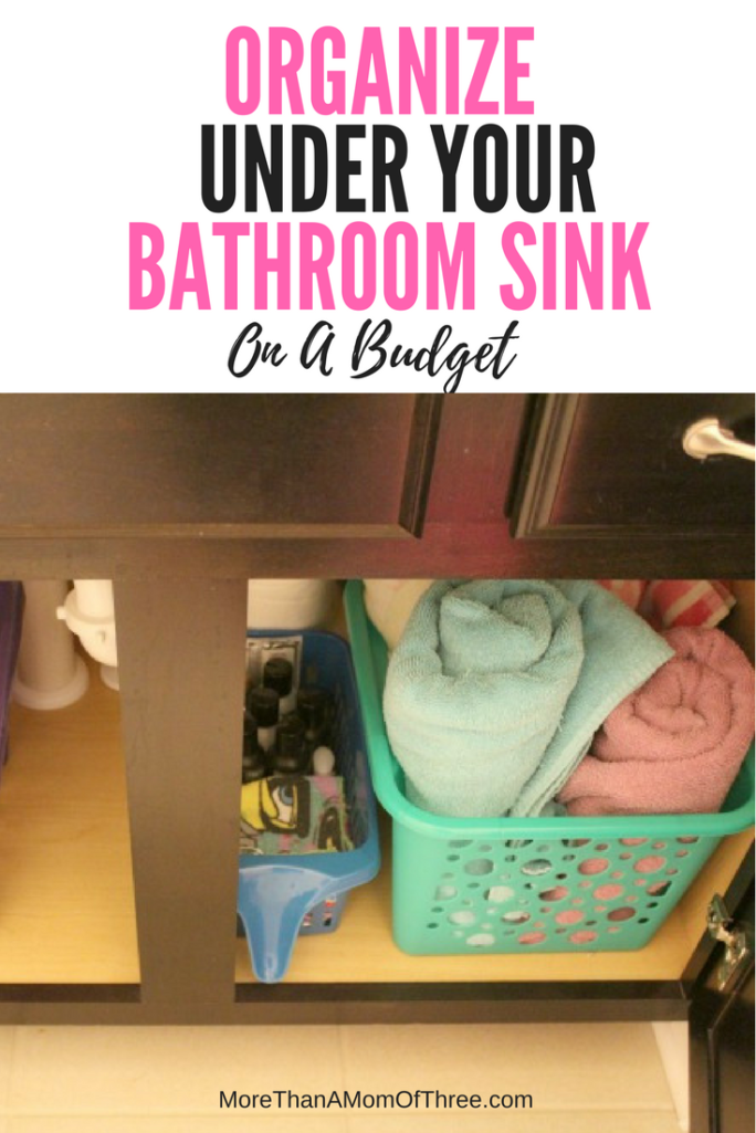 organizing under the bathroom sink how to organize your bathroom sink on a budget 23893