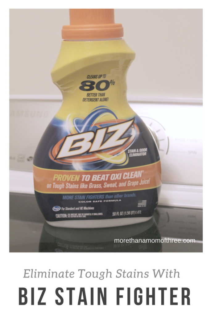 Eliminate Tough Stains With Biz Stain Fighter