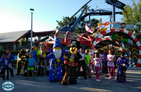 LEGOLAND Florida presents the Great LEGO Race. A virtual reality roller coaster