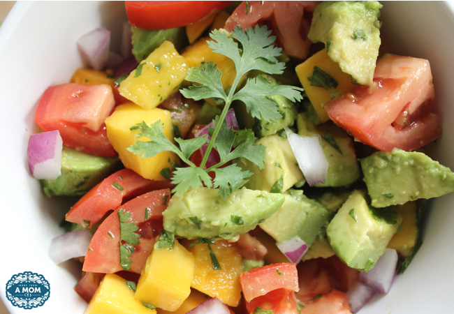 Refreshing Mango Avocado Salad