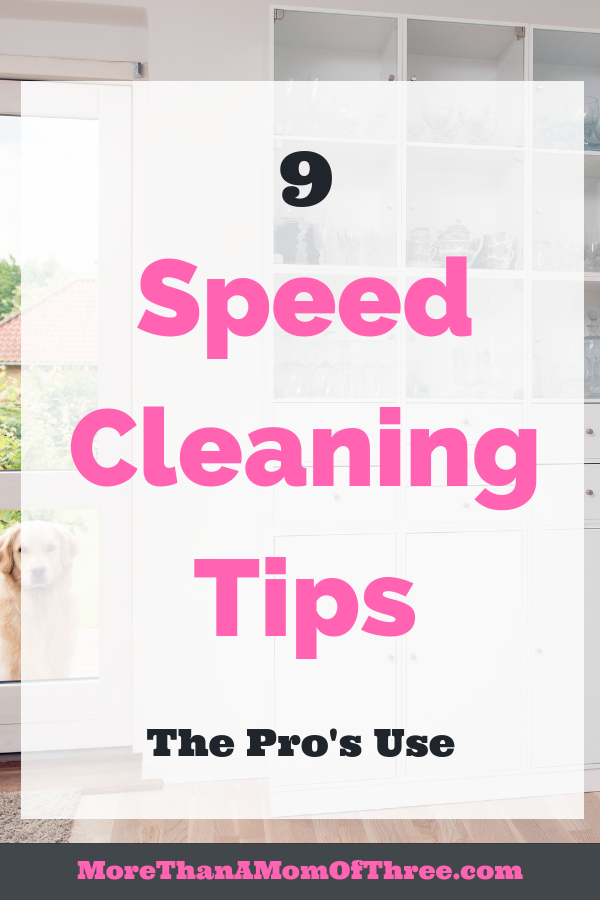 Housekeeping should mean being a slave to keeping your home clean. Speed cleaning your house could be what you need. Here are speed cleaning tips to help.