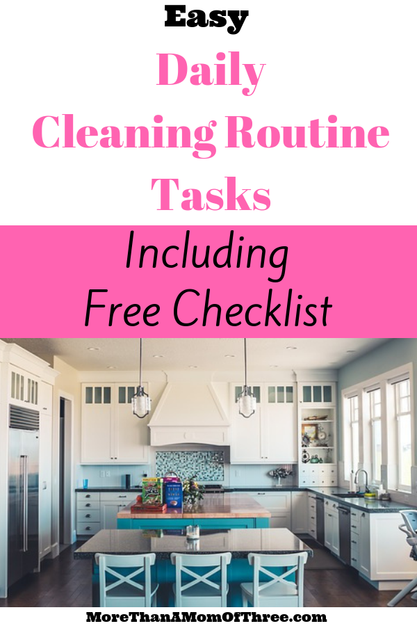 If you are looking for a house cleaning routine but have not found your groove. I suggest you start with these 7 manageable daily cleaning routine tasks.