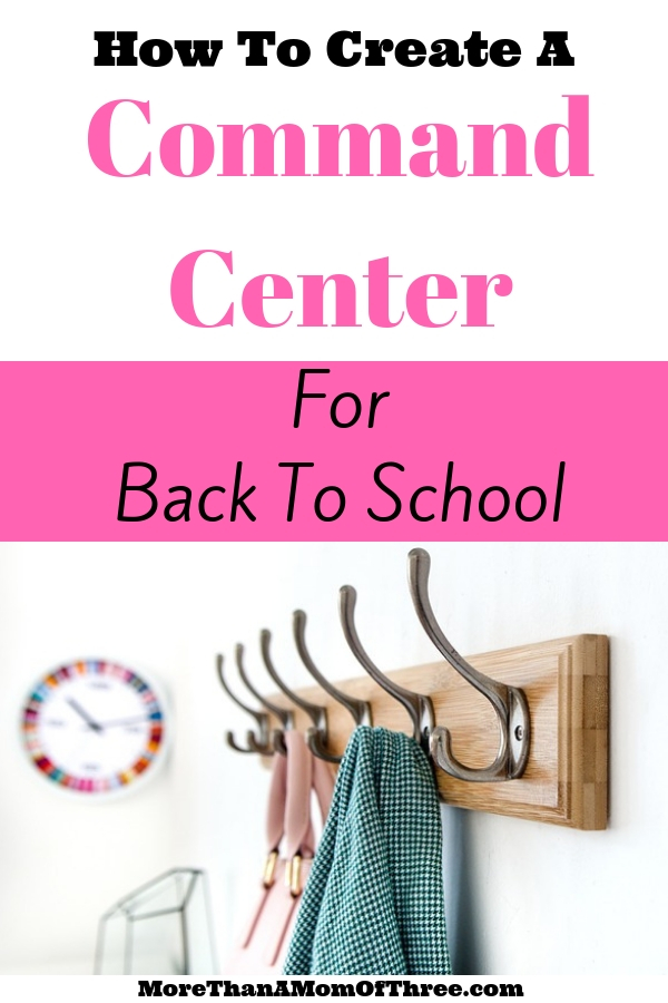 How to set up a school command center in your home to stay organized throughout the school year. Here are my 5 family command center must haves.