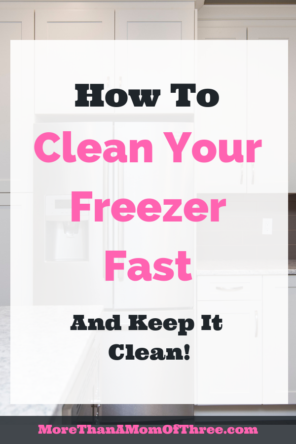 Cleaning your freezer should not be a daunting task! Save yourself time and money with these 10 simple steps on how to clean your freezer quickly.