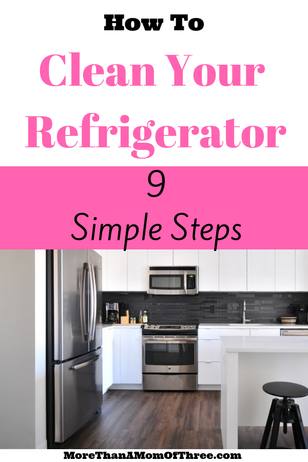 Cleaning your fridge is actually a very important area when you are cleaning your kitchen. So here is how to clean your refrigerator in just 9 simple steps!