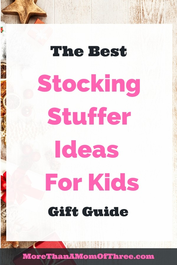 The best stocking stuffers for kids for you to make shopping a little easier this year. Holiday gift guide for your kids Christmas.