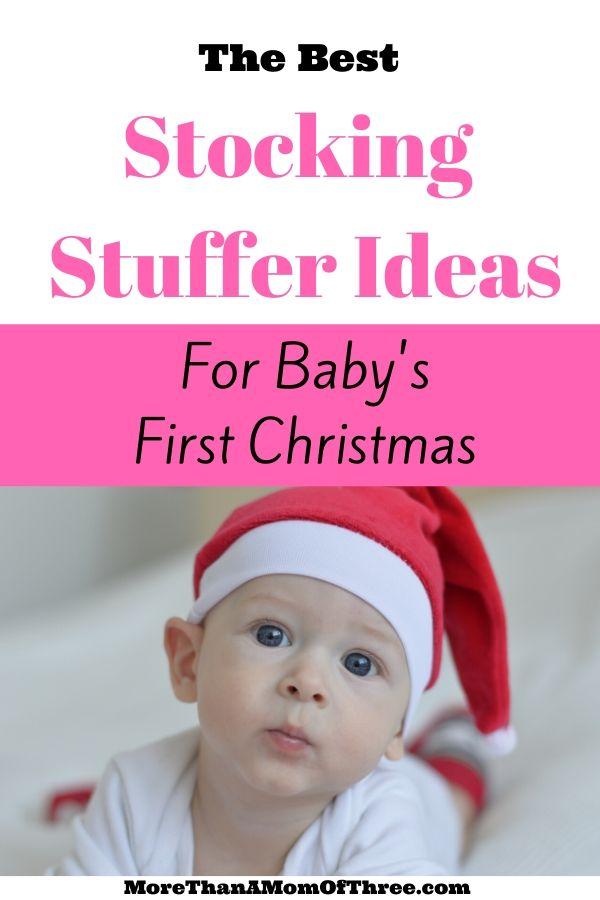 The best stocking stuffer ideas for babies for you to make shopping a little easier this year. Holiday gift guide for your baby's first Christmas.
