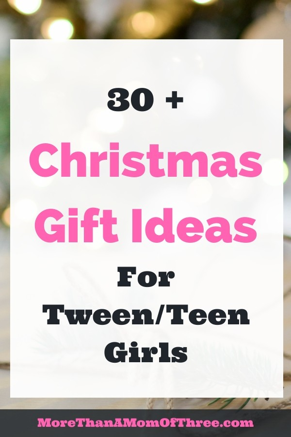 Christmas Gift Ideas For Teen Girls and Tween girls. This gift guide includes a wide variety of price ranges for gifts and teen stocking stuffer ideas.